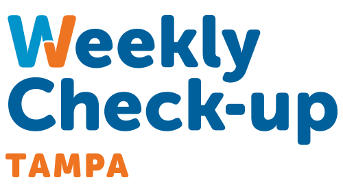 Weekly Check-Up Tampa Logo