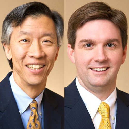 Dr. Mark Ling and Dr. Steven Marcet