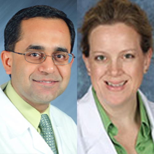 Drs. Vikas Malhotra and Alene Wright