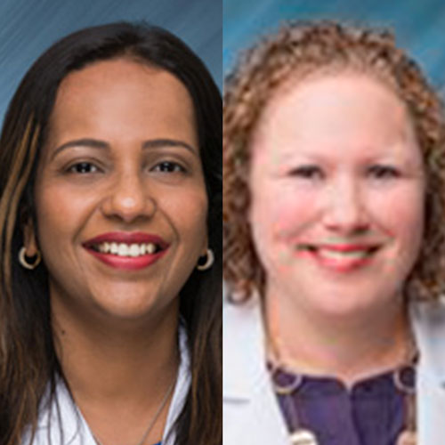 Dr. Eva Gupta and April Rozzo of Florida Cancer Specialists