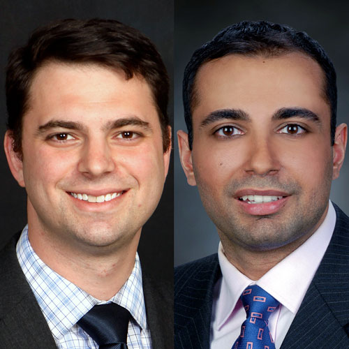 Dr. Evan Schoenberg of Georgia Eye Partners and Dr. Paul Walia of Georgia Retina