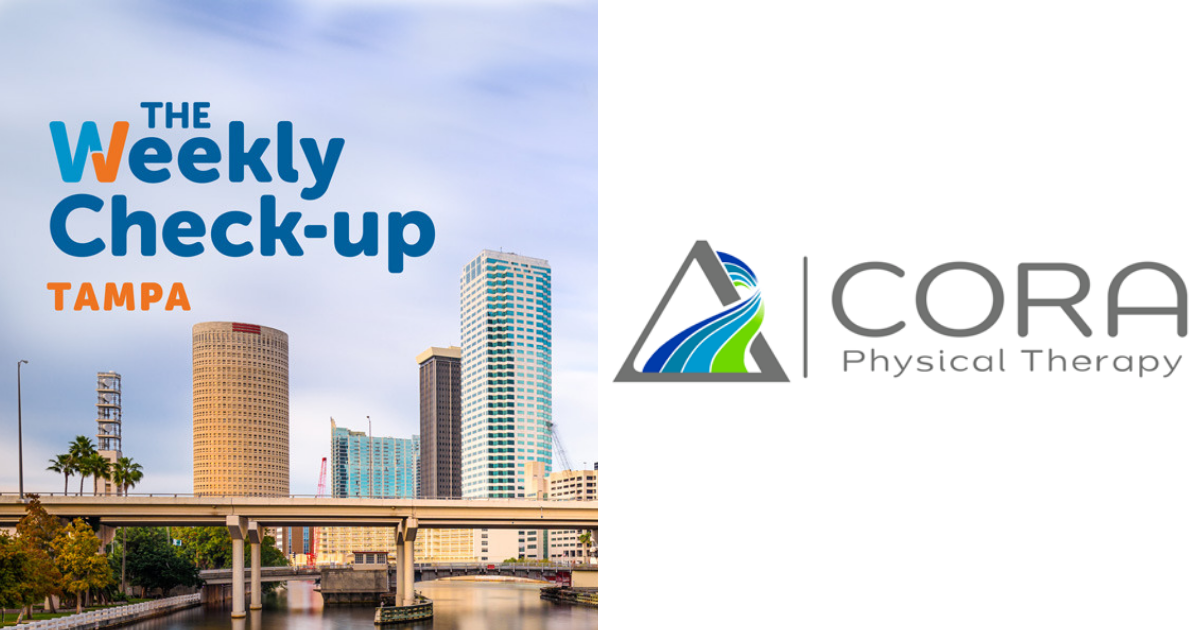 Dr Nick Pahl Of Cora Physical Therapy The Weekly Check Up