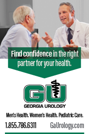Georgia Urology: 1.855.786.6311 GAUrology.com Find confidence in the right partner for your health.