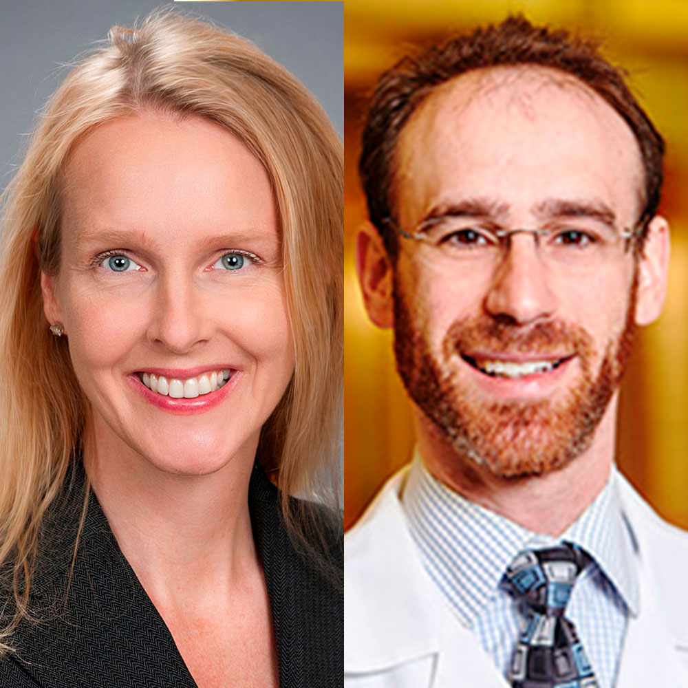 Dr. Lori Lebow of Gainesville Eye Associates and Dr. Benjamin Strauss of Georgia Eye Associates