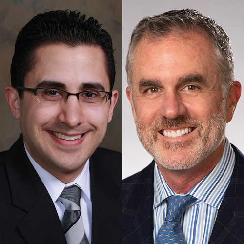 Dr. Fadi Nahab and Dr. Michael Cawley of Emory Healthcare