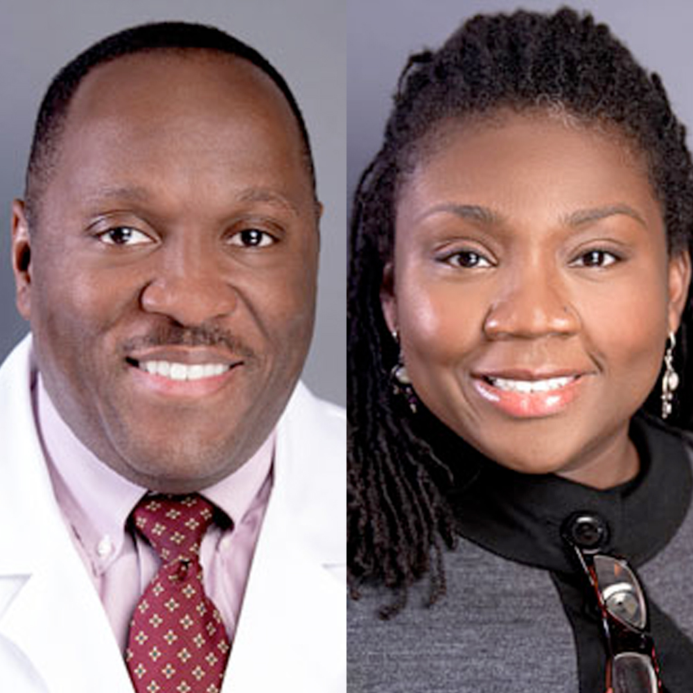 Dr. Daryl Sherrod and Dr. Carmen Echols of United Physician Group