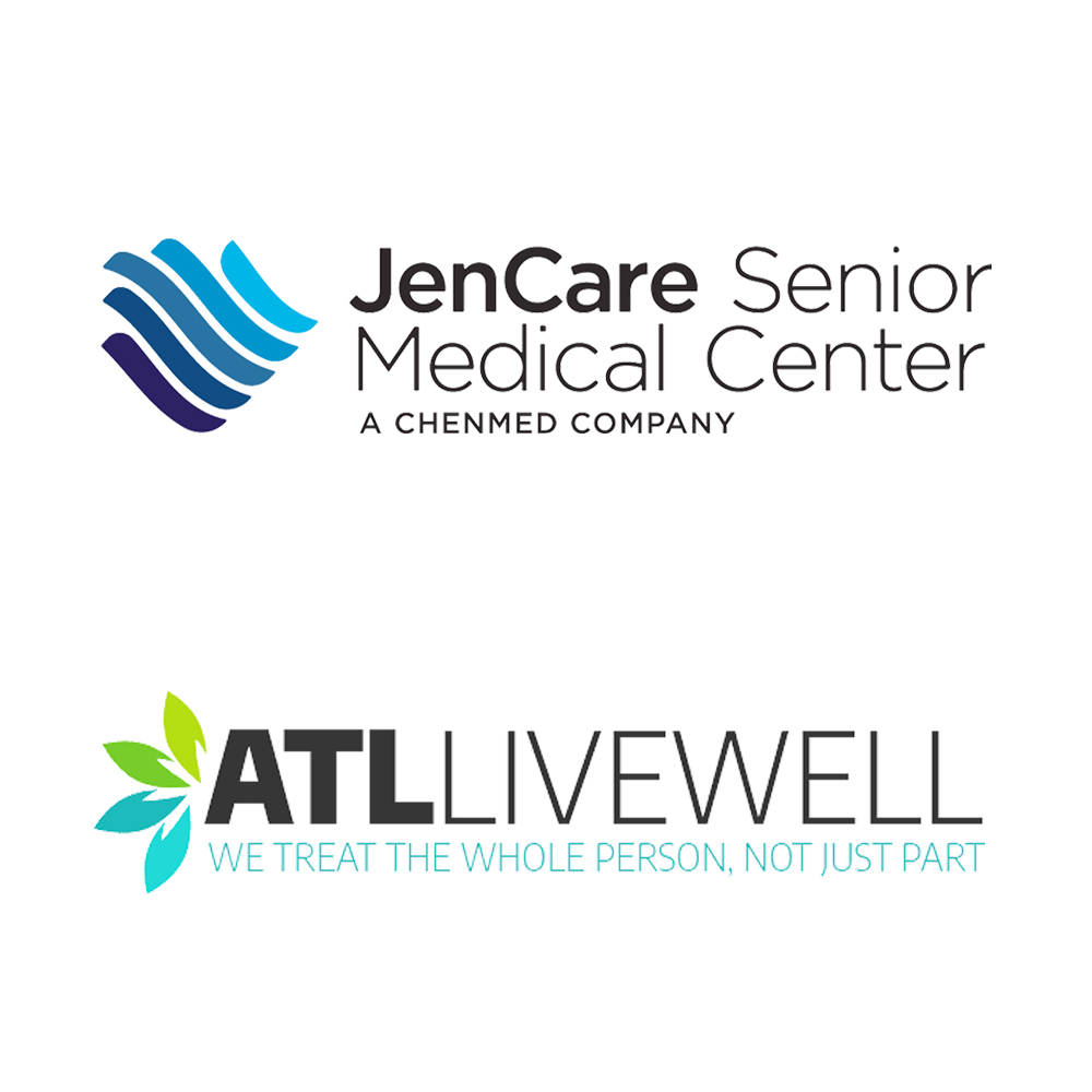 ATL Live Well and Jencare Senior Medical Center logo