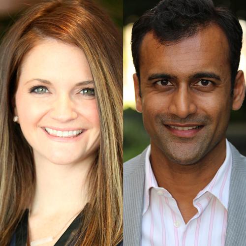 Dr. Jordan Tate and Dr. Preetesh Patel