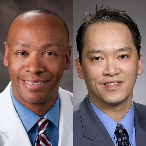 Dr. Robert Richard and Dr. Alex Nguyen