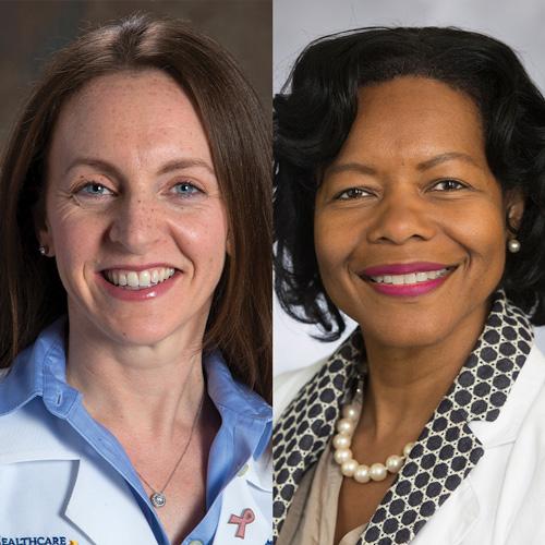Rebecca Seidel, MD and Karen Godette, MD of Emory Healthcare