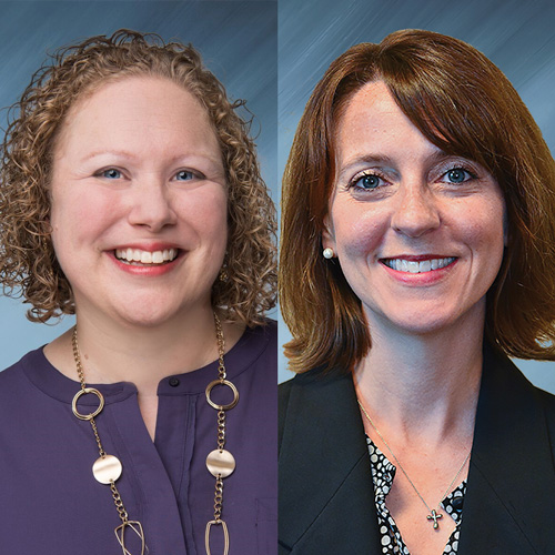 April Rozzo and Dana Ingoglio of Emory Healthcare
