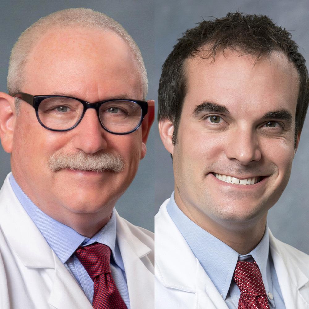 Drs. Hal Scherz and Bryce Wyatt
