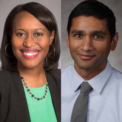 Drs. Zanthia Wiley and Dr. Sujit Suchindran
