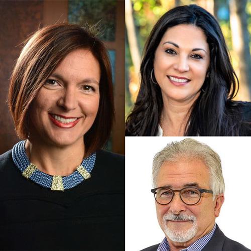 Lara O'Connor Hodgson, founder and CEO, Now Corp Cindy Richards, founder, and Rob Stearns, family advisor, Best Nest Senior Advisors